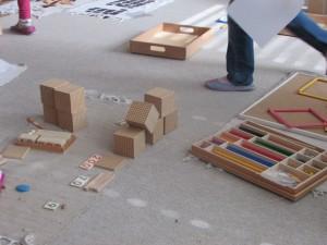 Osrednji delovni prostor na tleh